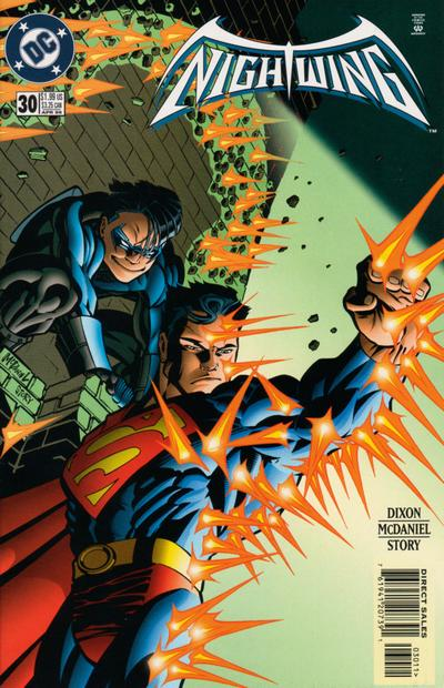 Cover for Nightwing (DC, 1996 series) #30