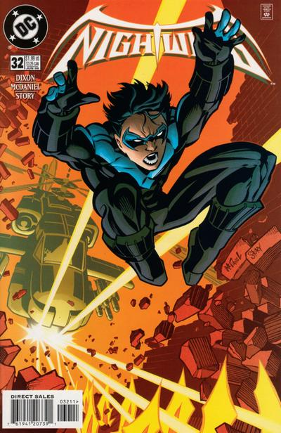Cover for Nightwing (DC, 1996 series) #32