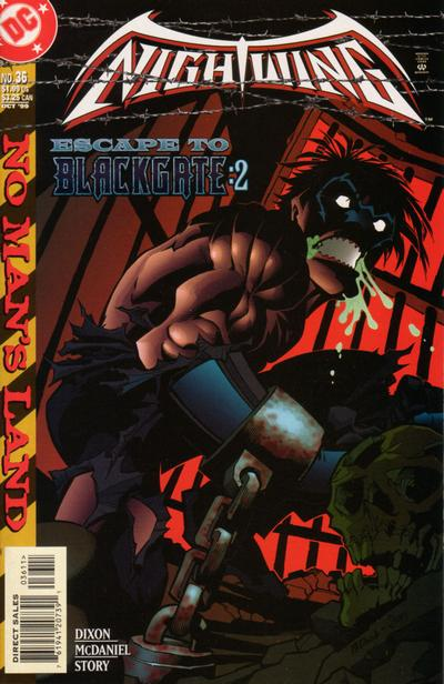 Cover for Nightwing (DC, 1996 series) #36
