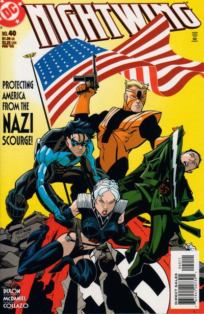 Cover for Nightwing (DC, 1996 series) #40