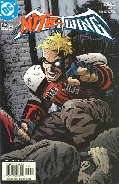 Cover for Nightwing (DC, 1996 series) #42 [Newsstand Sales]