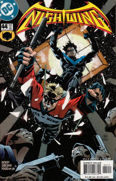 Cover for Nightwing (DC, 1996 series) #44