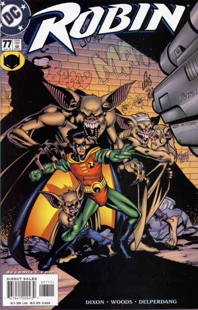 Cover for Robin (DC, 1993 series) #77