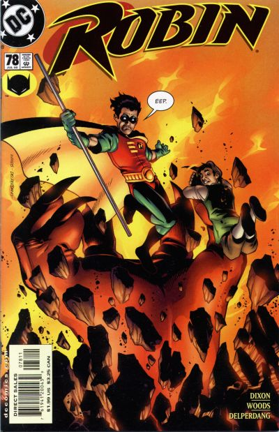Cover for Robin (DC, 1993 series) #78