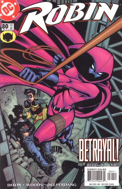 Cover for Robin (DC, 1993 series) #80
