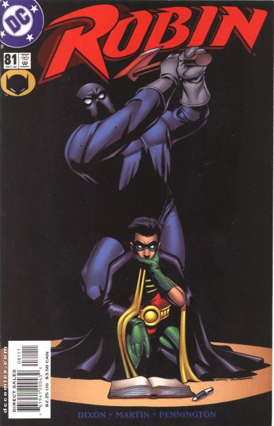 Cover for Robin (DC, 1993 series) #81