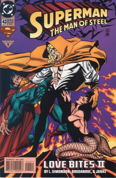 Cover for Superman: The Man of Steel (DC, 1991 series) #42