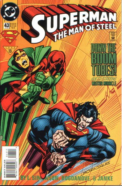 Cover for Superman: The Man of Steel (DC, 1991 series) #43