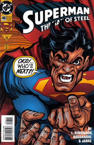 Cover for Superman: The Man of Steel (DC, 1991 series) #46