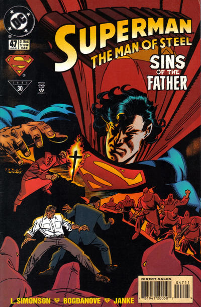Cover for Superman: The Man of Steel (DC, 1991 series) #47