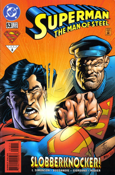 Cover for Superman: The Man of Steel (DC, 1991 series) #53