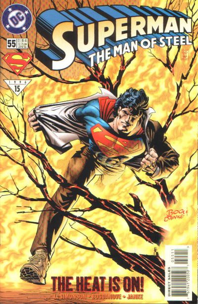 Cover for Superman: The Man of Steel (DC, 1991 series) #55