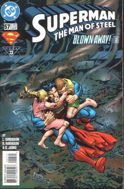 Cover for Superman: The Man of Steel (DC, 1991 series) #57