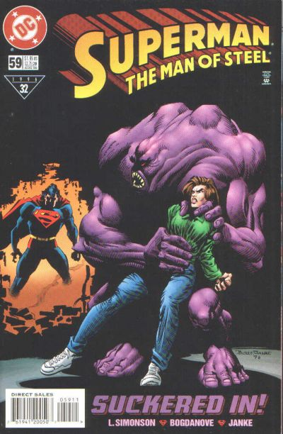 Cover for Superman: The Man of Steel (DC, 1991 series) #59