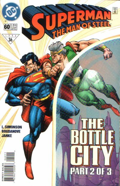 Cover for Superman: The Man of Steel (DC, 1991 series) #60