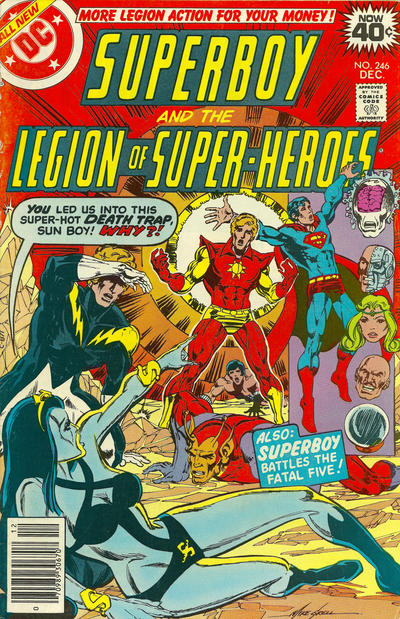 Cover for Superboy & the Legion of Super-Heroes (DC, 1977 series) #246