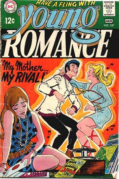 Cover for Young Romance (DC, 1963 series) #157