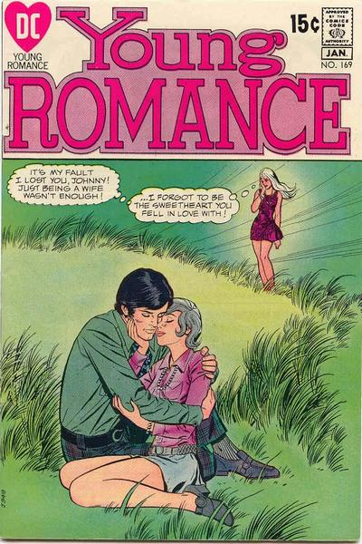 Cover for Young Romance (DC, 1963 series) #169