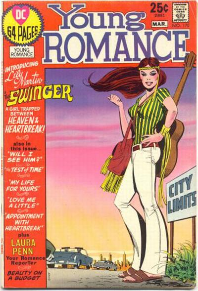Cover for Young Romance (DC, 1963 series) #170