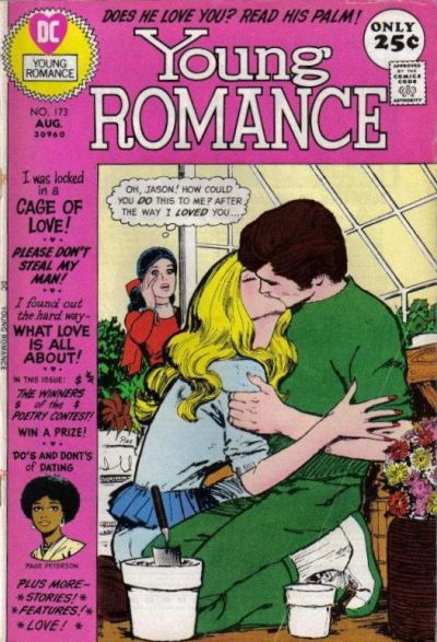 Cover for Young Romance (DC, 1963 series) #173