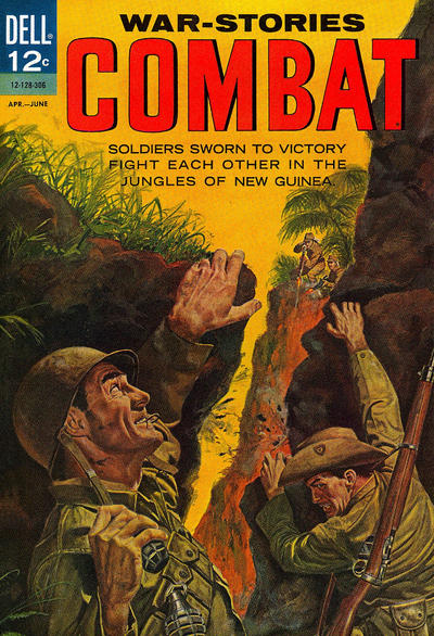 Cover for Combat (Dell, 1961 series) #8 [a]