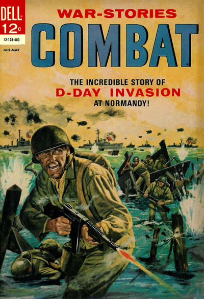 Cover for Combat (Dell, 1961 series) #11