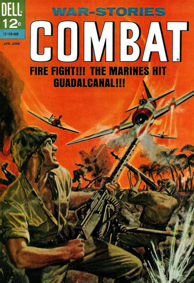 Cover for Combat (Dell, 1961 series) #12