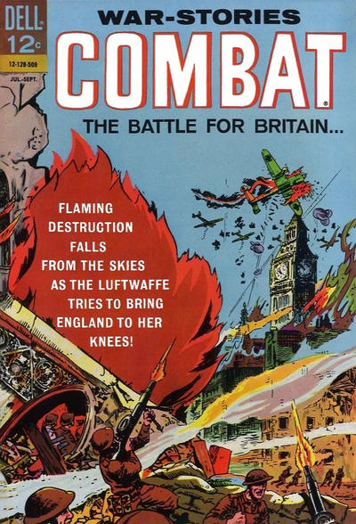 Cover for Combat (Dell, 1961 series) #17