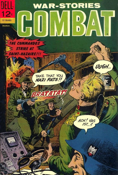 Cover for Combat (Dell, 1961 series) #19