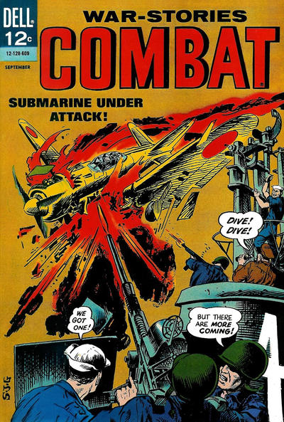 Cover for Combat (Dell, 1961 series) #21