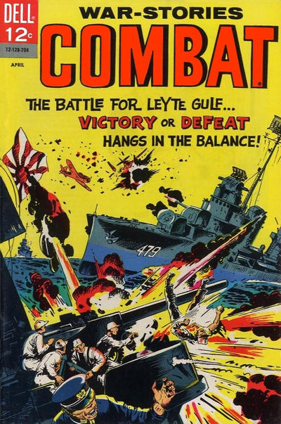 Cover for Combat (Dell, 1961 series) #24