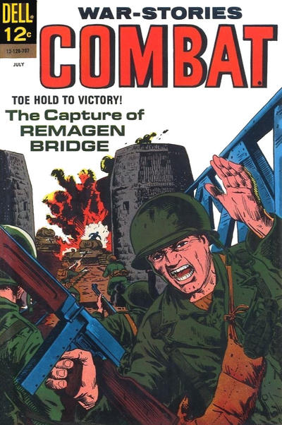 Cover for Combat (Dell, 1961 series) #25