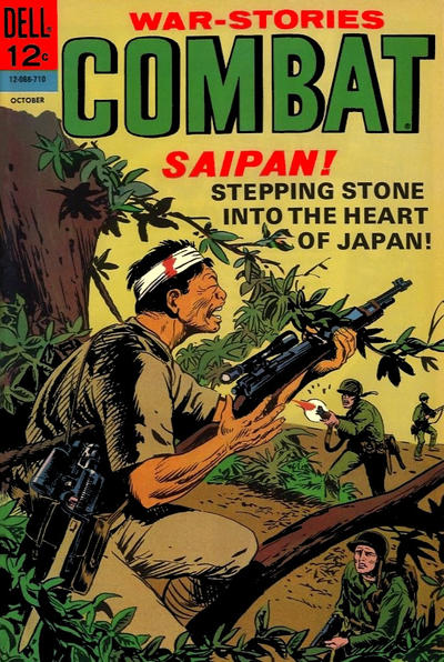 Cover for Combat (Dell, 1961 series) #26