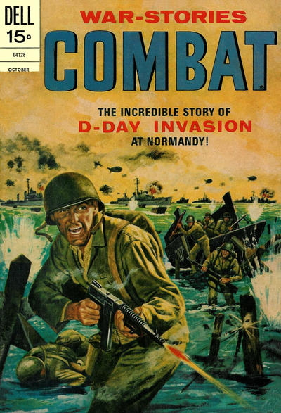 Cover for Combat (Dell, 1961 series) #37