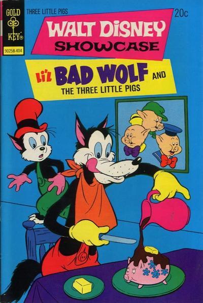 Cover for Walt Disney Showcase (Western, 1970 series) #21 [Gold Key]