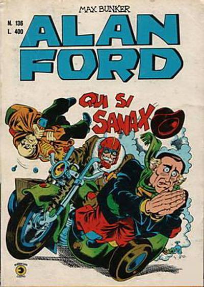 Cover for Alan Ford (Editoriale Corno, 1969 series) #136