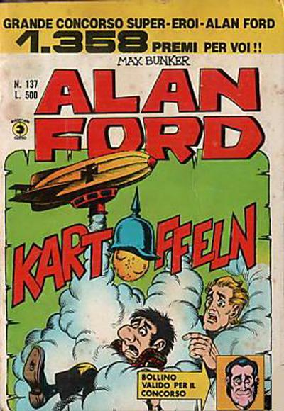 Cover for Alan Ford (Editoriale Corno, 1969 series) #137