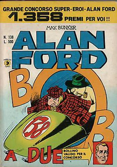 Cover for Alan Ford (Editoriale Corno, 1969 series) #138