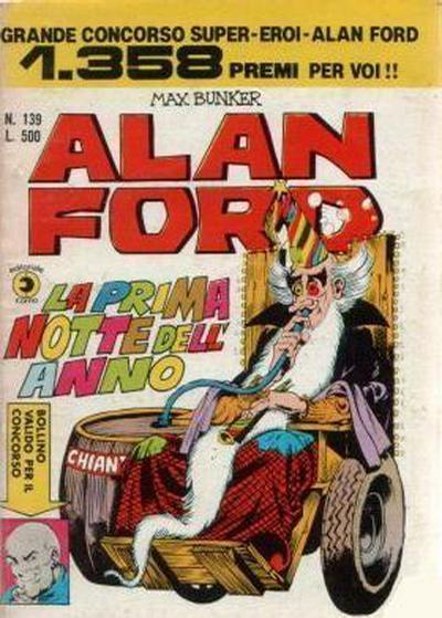Cover for Alan Ford (Editoriale Corno, 1969 series) #139