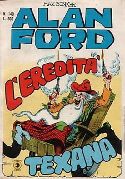 Cover for Alan Ford (Editoriale Corno, 1969 series) #140