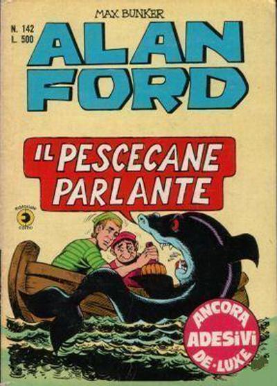Cover for Alan Ford (Editoriale Corno, 1969 series) #142