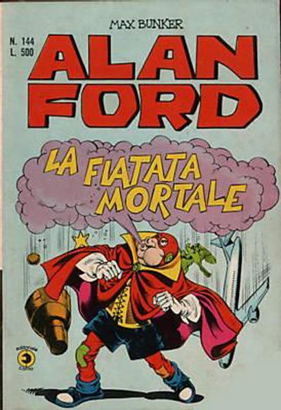 Cover for Alan Ford (Editoriale Corno, 1969 series) #144