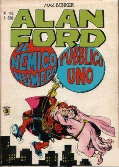 Cover for Alan Ford (Editoriale Corno, 1969 series) #145