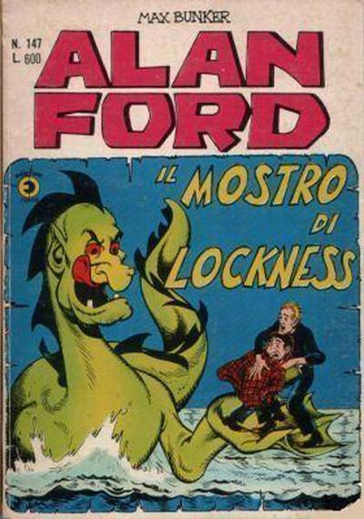 Cover for Alan Ford (Editoriale Corno, 1969 series) #147
