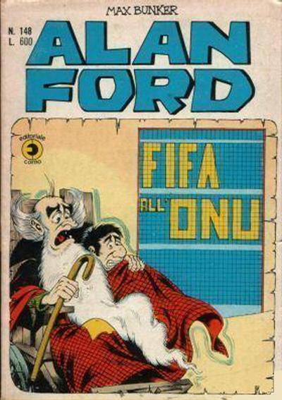 Cover for Alan Ford (Editoriale Corno, 1969 series) #148