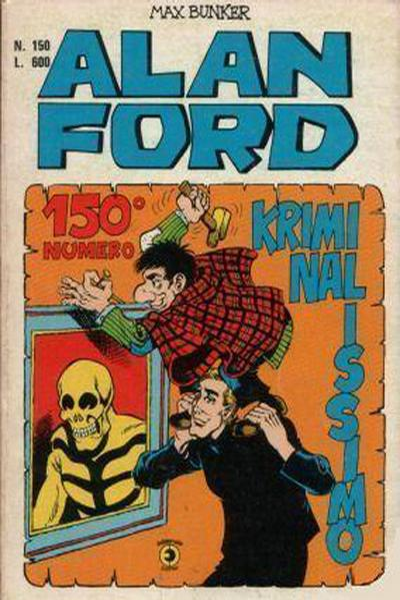 Cover for Alan Ford (Editoriale Corno, 1969 series) #150
