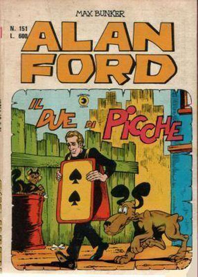Cover for Alan Ford (Editoriale Corno, 1969 series) #151