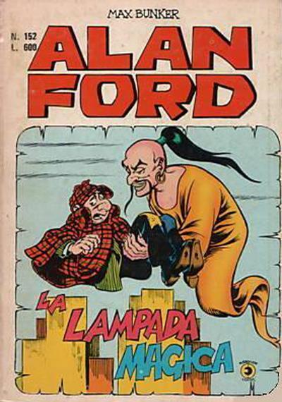 Cover for Alan Ford (Editoriale Corno, 1969 series) #152