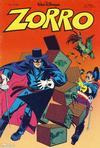 Cover for Zorro (Hjemmet / Egmont, 1980 series) #3/1981
