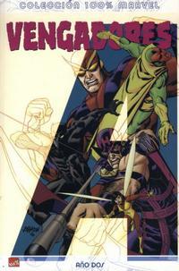 Cover Thumbnail for 100% Marvel: Los Vengadores Año Dos (Panini España, 2007 series)